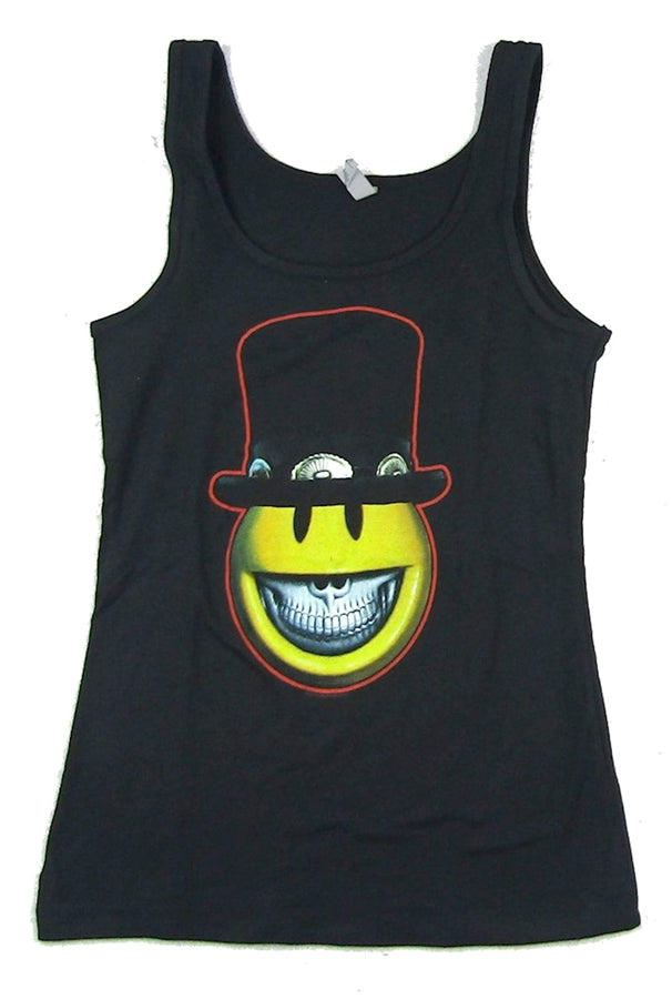 Slash - Top Hat Character - Girl's Junior Black Tanktop t-shirt