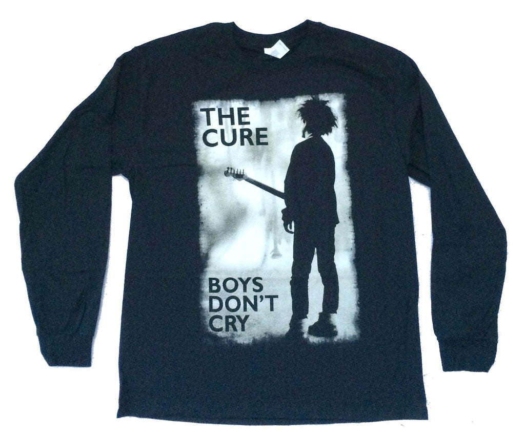 The Cure-Boys Dont Cry-Longsleeve-Black t-shirt