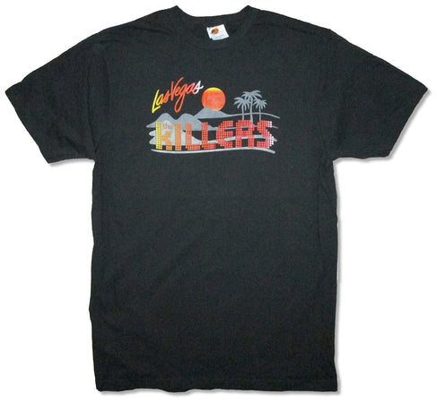 The Killers -Vegas Logo - Black t-shirt