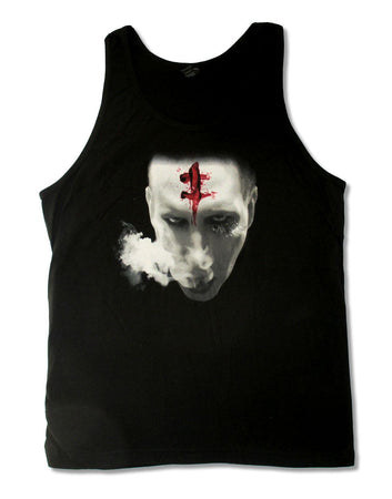 Marilyn Manson-Bloody Mark Black Tanktop t-shirt