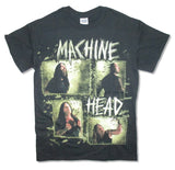 Machine Head - Rectangle Photo - Black t-shirt