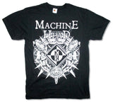 Machine Head - Lion Crest - Black t-shirt