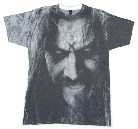 Rob Zombie-Face All Over Sublimation Print T-shirt
