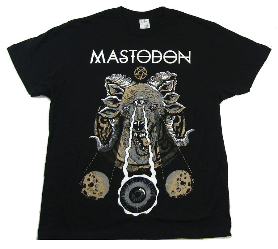 Mastodon-Weird Goat 2015 Tour-Black T-shirt