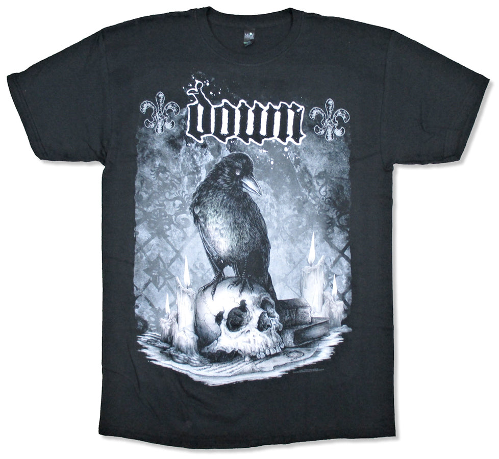 Down Jumbo Skull Black T-shirt