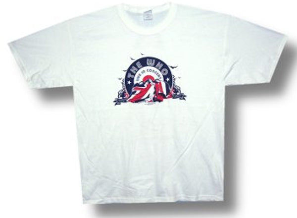 The Who - Live In Concert-Tour - White t-shirt