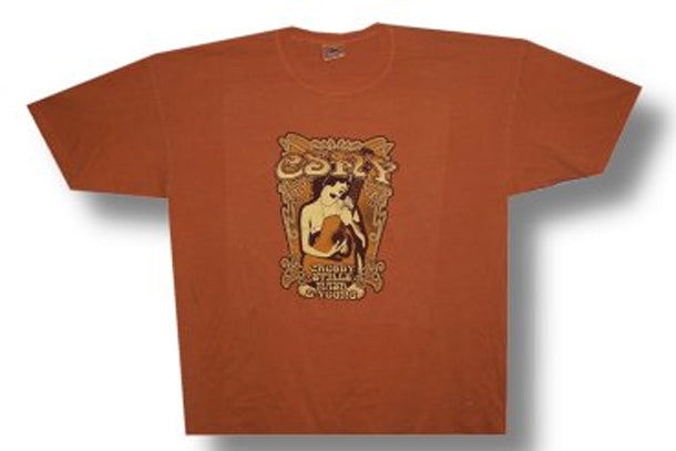 Crosby Stills Nash & Young-Anvil on Yam Pigment DyeT-shirt