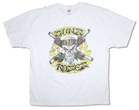 Guns N Roses - Shotgun - White t-shirt