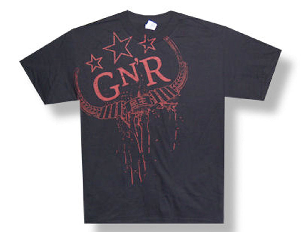Guns N Roses - Drip Logo-Fatigue-2009/2010 Tour - Black t-shirt