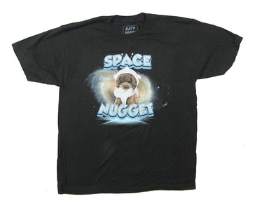 Katy Perry - Space Nugget - Black T-shirt