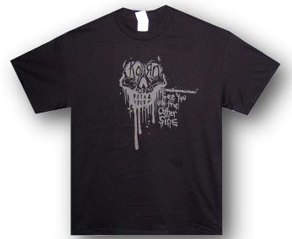 Korn Dripping Skull  See You On The Other Side T-shirt