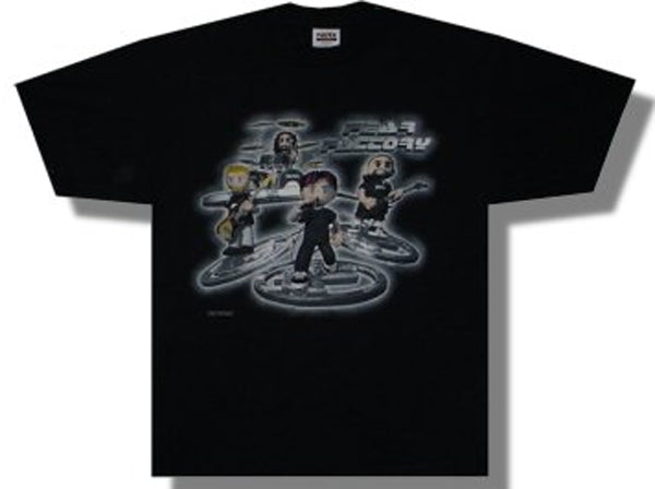 Fear Factory - 3D Toon - Black t-shirt