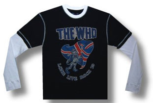 The Who - Long Live Rock 2 Fer - Longsleeve T-shirt