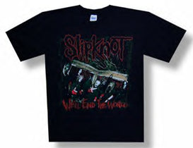 Slipknot End the World 08 Black t-shirt
