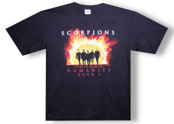 Scorpions Flame Guys Black t-shirt