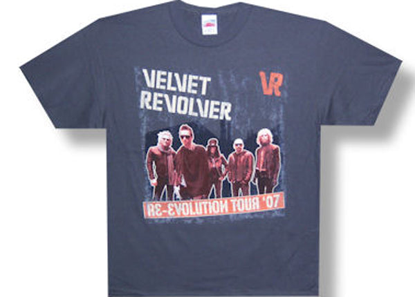 Velvet Revolver Re-Evolution Tour t-shirt