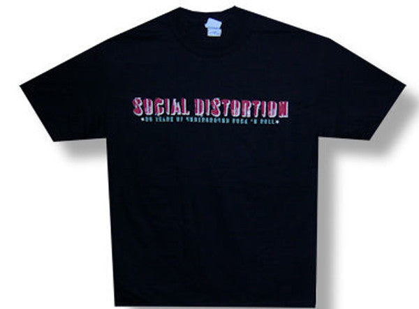 Social Distortion 30 Years 09 Tour  t-shirt