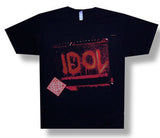 Billy Idol-Amp 2008 Tour Black t-shirt
