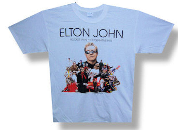 Elton John Rocketman 08 Tour t-shirt