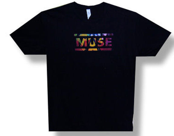 Muse Logo with Circle 09 Tour Men's lightweight t-shirt