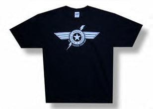 Motorhead - Winged Bolt 09 Tour - Black  T-shirt