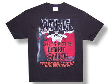 Danzig 9 Cities Tour t-shirt