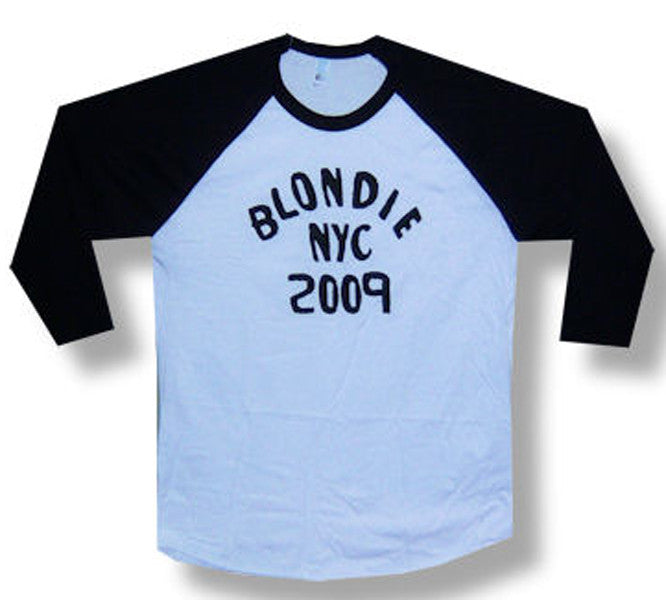 Blondie NYC 2009 Men's Raglan T-shirt