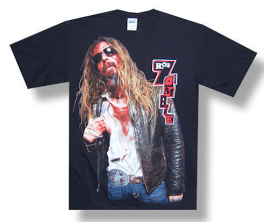 Rob Zombie Bloody Rob 2010 Tour t-shirt