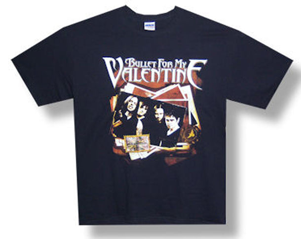 Bullet For My Valentine Photo Stack Black t-shirt
