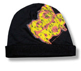 Iggy Pop Yellow logo fold beanie