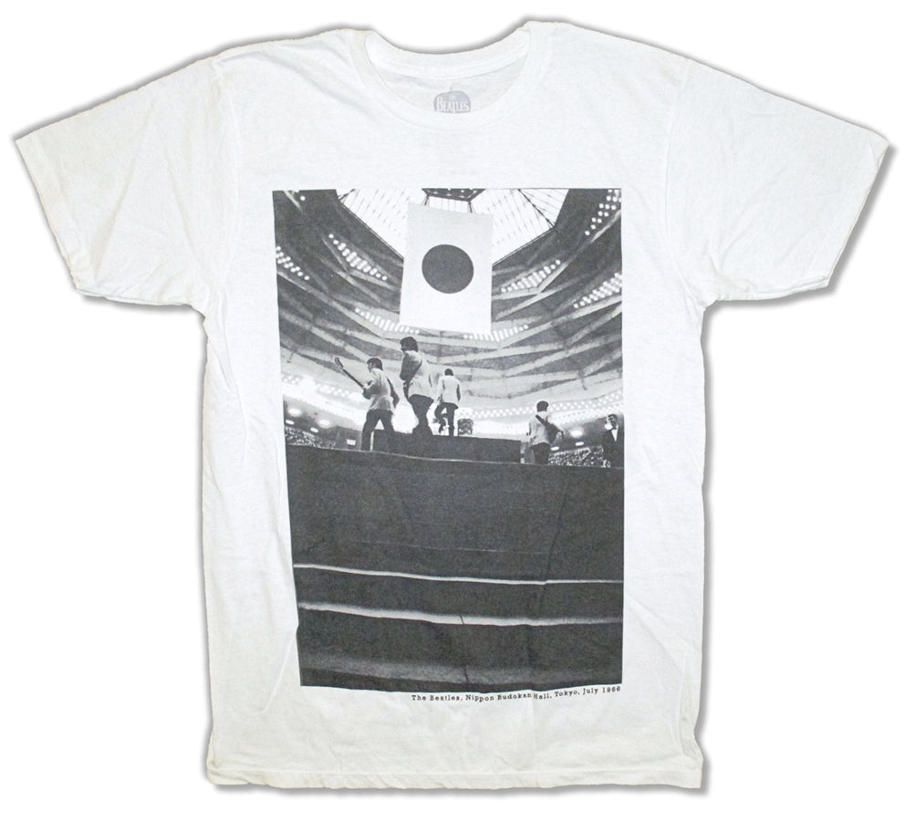 The Beatles-Tokyo July 1966-White t-shirt