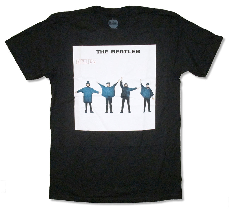 The Beatles-Help-Black t-shirt