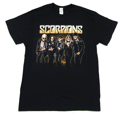 Scorpions-City Photo 2017 Tour-Black t-shirt