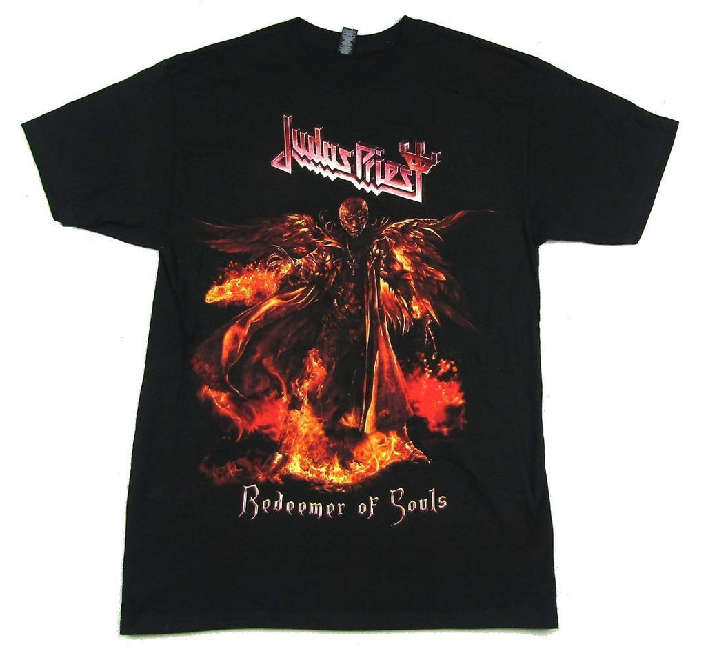 Judas Priest - Red Redeemer Of Souls Tour - Black T-shirt