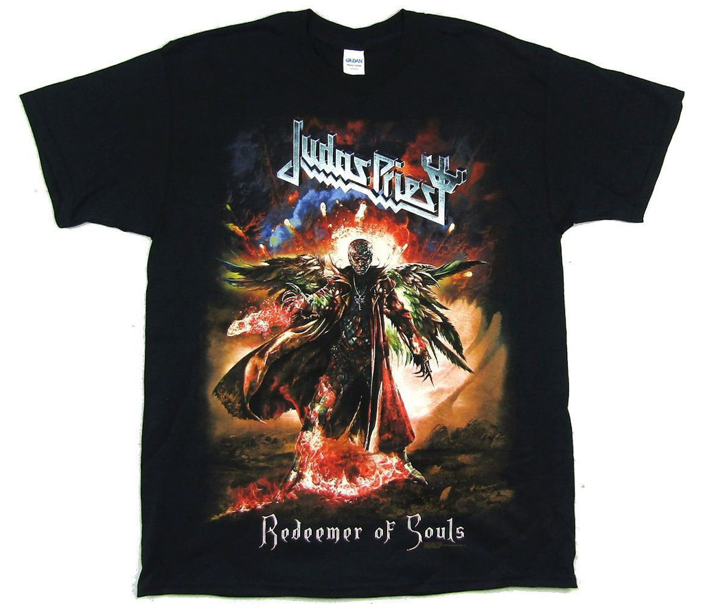 Judas Priest - Redeemer Of Souls Tour-Full Color - Black T-shirt