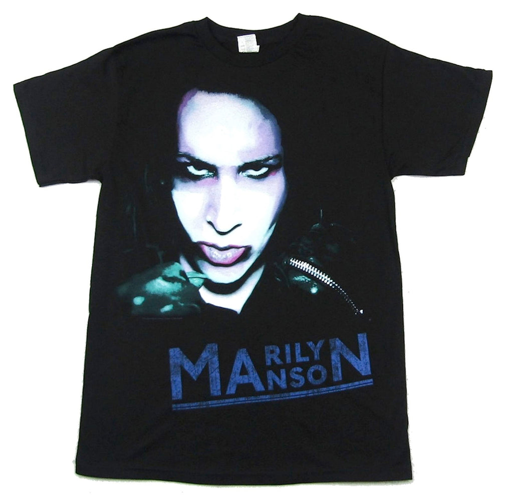 Marilyn Manson - Over-Saturated Zipper Stare - Black t-shirt