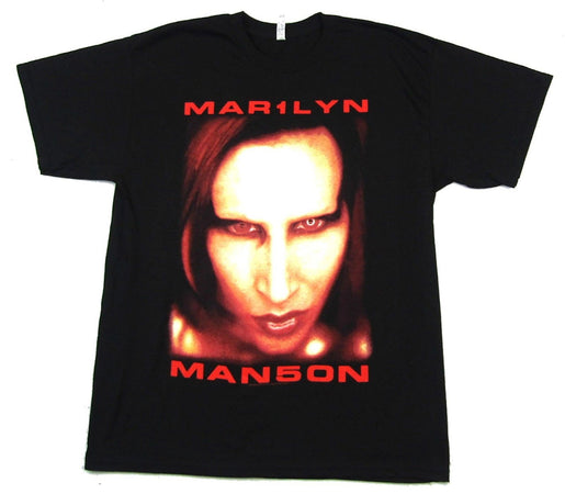 Marilyn Manson - Bigger Than Satan-Big Face - Black t-shirt