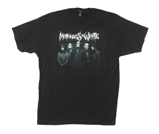 Motionless In White - Group Photo 5  - Black t-shirt