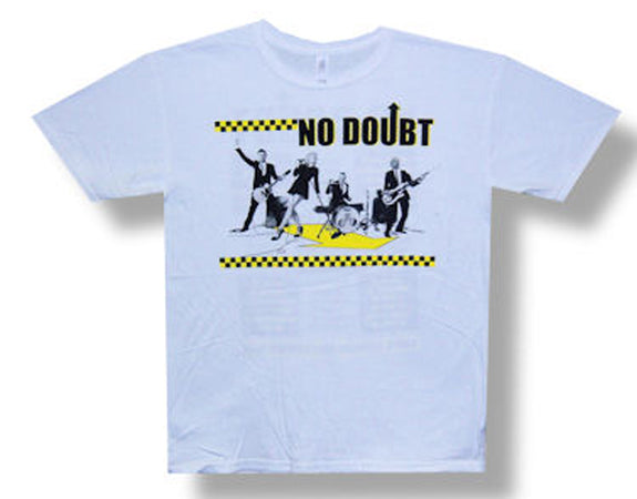 No Doubt - Photo Checker 09 Tour - White t-shirt