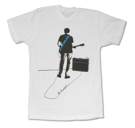 Paul McCartney-Signature-Amp-White t-shirt