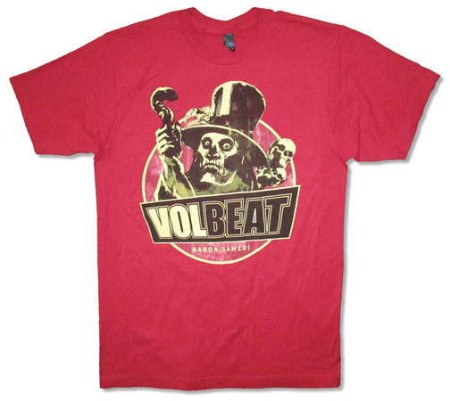 Volbeat - Baron Samedi - Red t-shirt