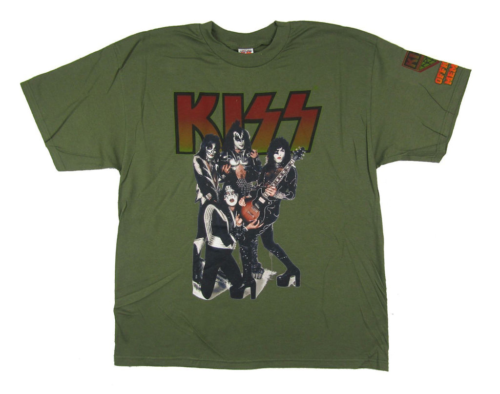 Kiss - Official Kiss Army Member - Green t-shirt