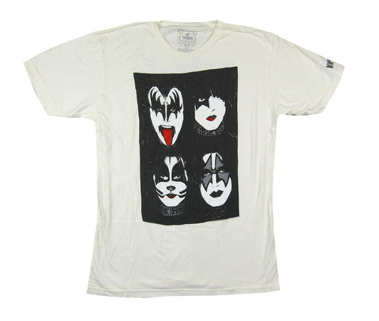 Kiss - VIP 2012 Tour-Trunk LTD Fashion Garment-Off White t-shirt