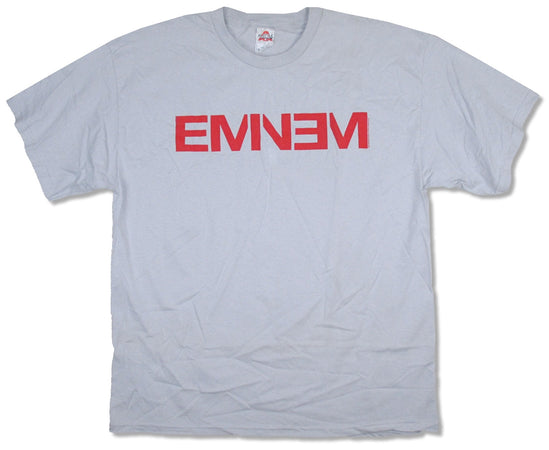 Eminem - Red Logo - Light Grey  t-shirt