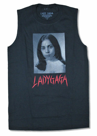Lady Gaga  - Joanne School - Black Tanktop T-shirt
