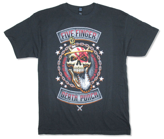 Five Finger Death Punch - Rebellion Revised - Black  t-shirt