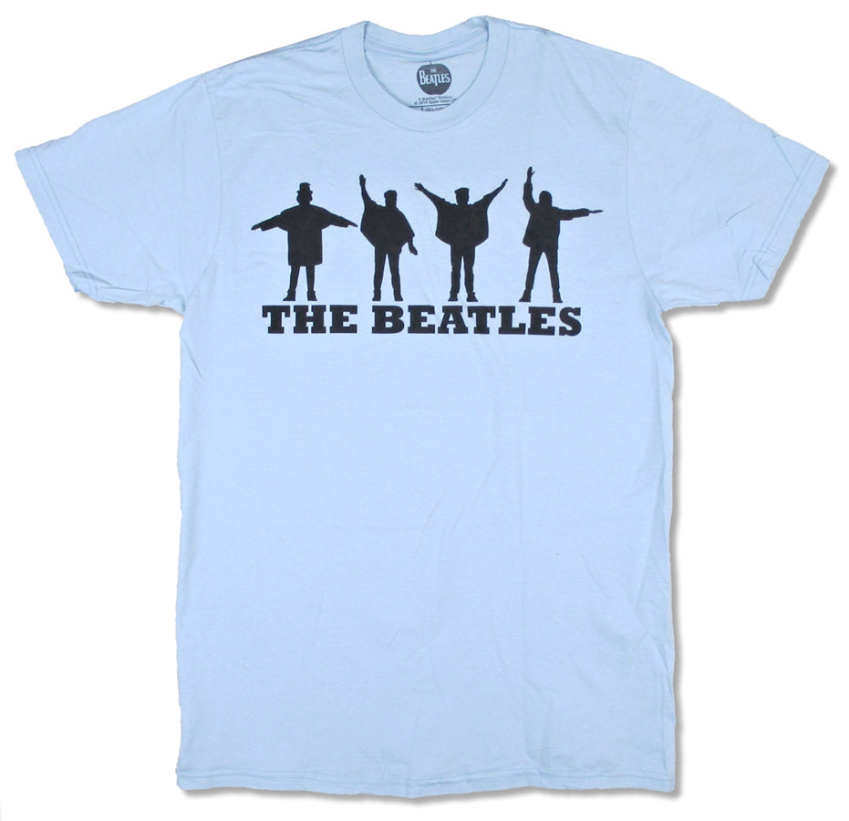The Beatles- Help - Light Blue t-shirt