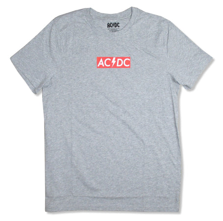 AC/DC - Red Plate - Heather Grey t-shirt