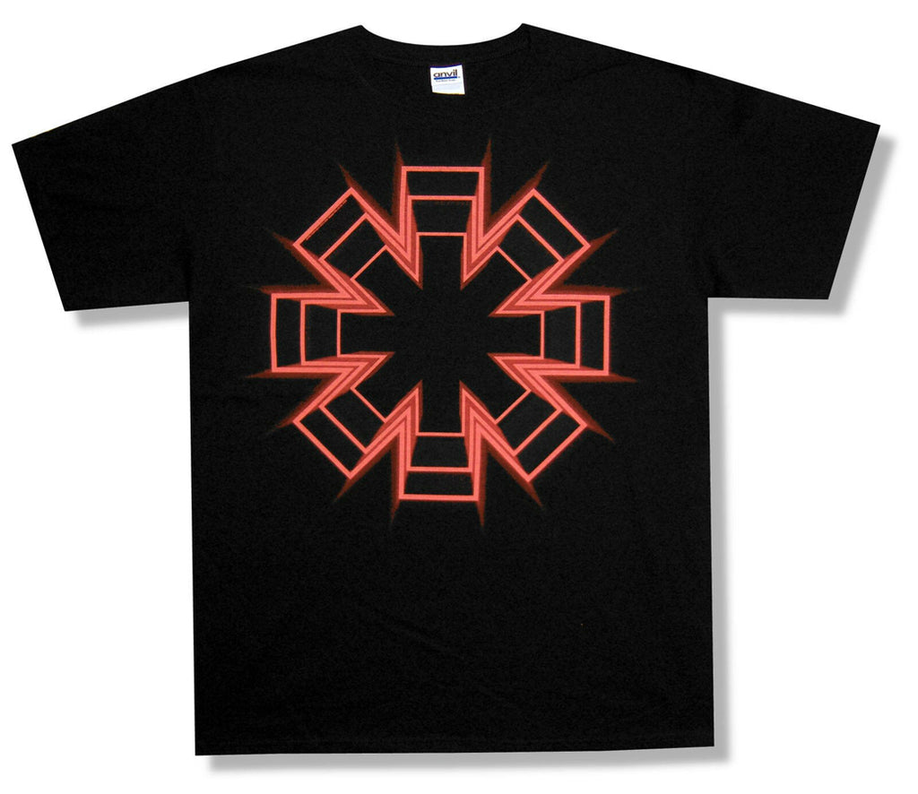 Red Hot Chili Peppers - Live Floor Asterisk - Black  t-shirt