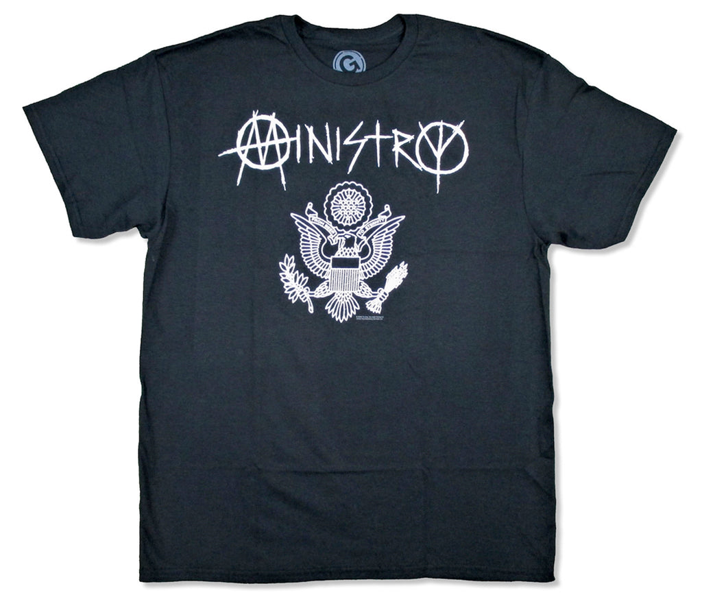 Ministry - Great Seal - Black T-shirt